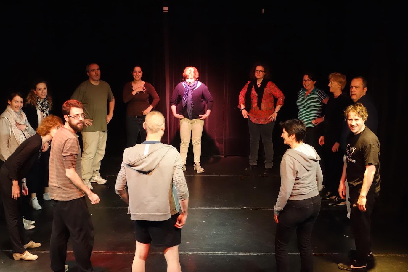 stage theatre a paris