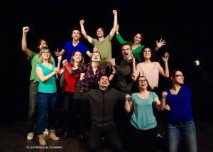 spectacle impro theatre