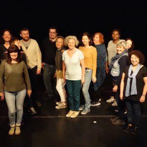 stage theatre a paris debutant